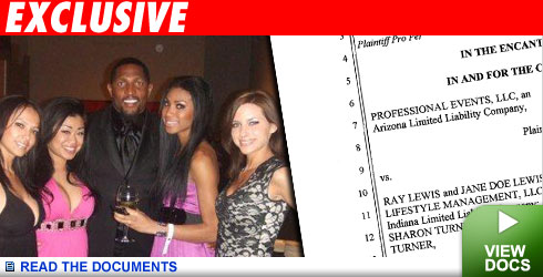 Hey Ray Lewis, Those Hostesses Aren't Free! | TMZ.com