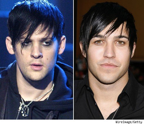 Joel Madden and Pete Wentz