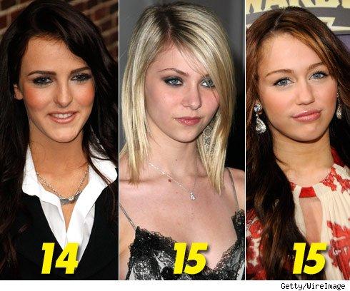 Teen Stars Botox Ready