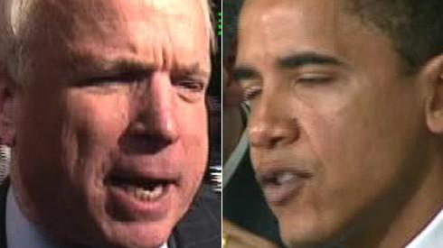 McCain, Obama