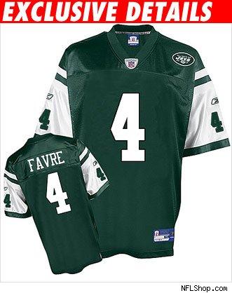 brett favre jets jersey. York Jets QB Brett Favre