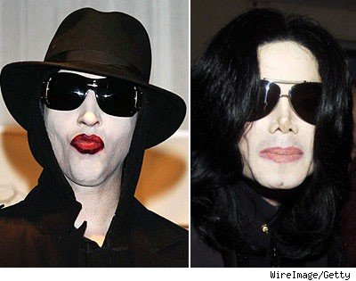 Marilyn Manson and Michael Jackson
