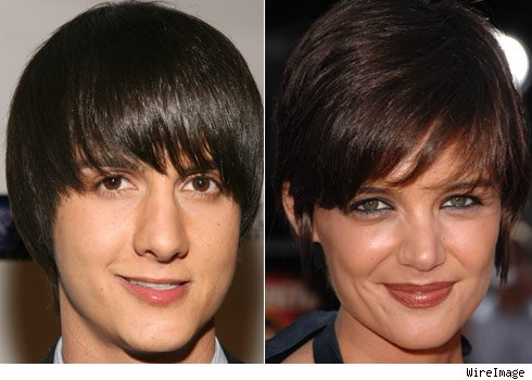 Chad Rogers and Katie Holmes
