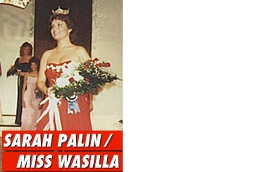 V.P. Nominee was once Miss Wasilla, Alaska