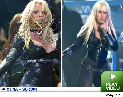 Christina Aguilera: Click to watch