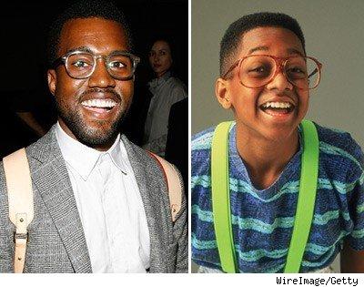 Kanye and Urkel