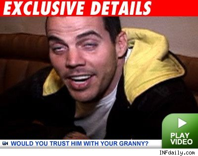 Steve-O: Click to watch