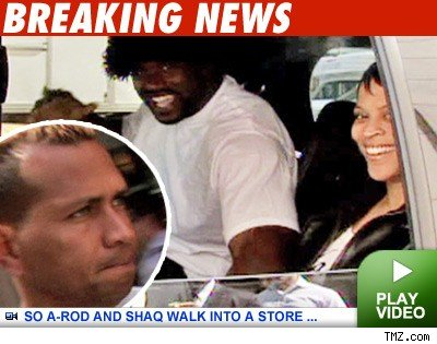 Two of the biggest sports stars (Shaq and A-Rod) in the world, embroiled in ...