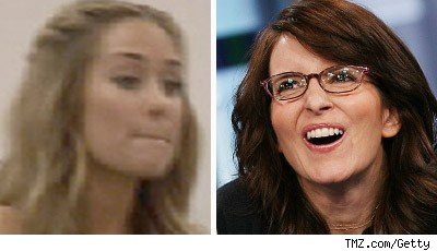 Lauren Conrad and Tina Fey