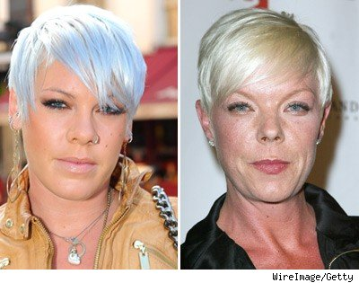 Pink and Tabatha Coffey