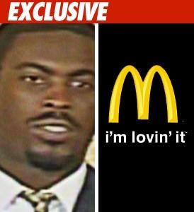 Michael Vick, McDonalds
