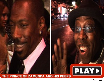 Eddie and Arsenio: Click to watch!