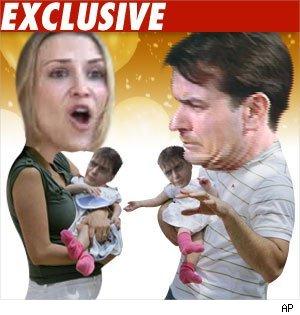 Brooke Mueller, Charlie Sheen