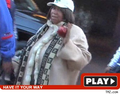 Aretha Franklin: Click to watch