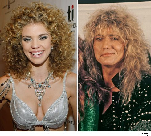 AnnaLynne McCord and Whitesnake