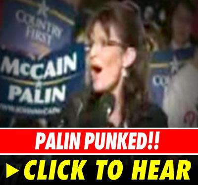 Sarah Palin: Click to listen!