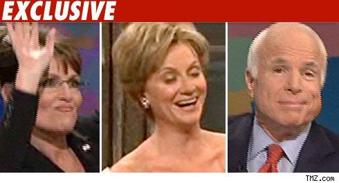 Sarah Palin, Amy Poehler, John McCain