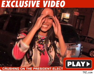 Obama Girl: Click to watch