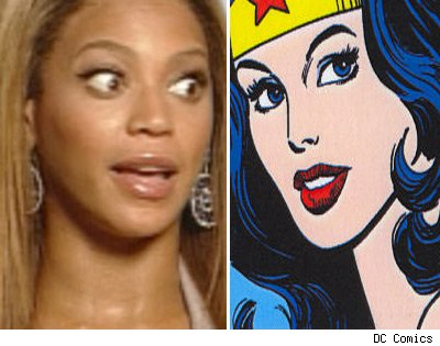 Beyonce and Wonder Woman