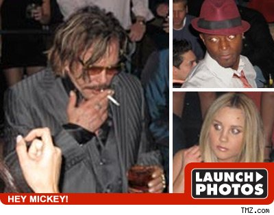 Taye Diggs and Amanda Bynes and Mickey Rourke: Click to view!