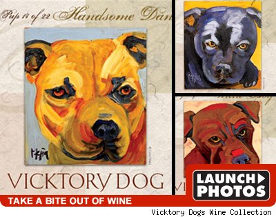 Michael Vick's Dogs: Click to view!
