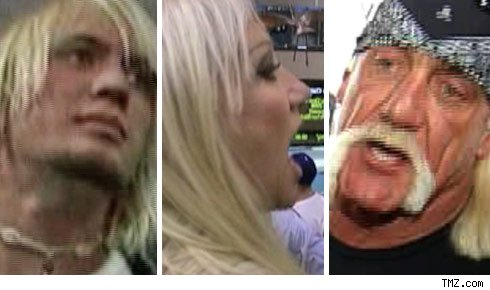 Linda Hogan and Hulk Hogan