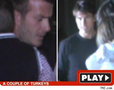 David Beckham, Tom Cruise