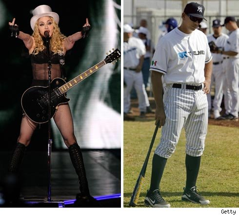 Madonna and A-Rod