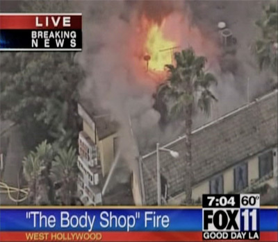 Body Shop fire