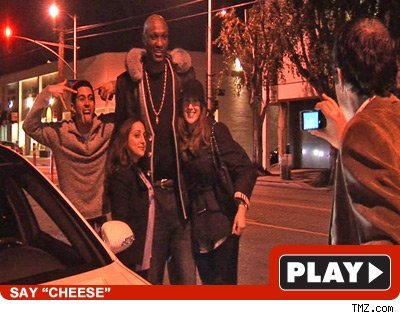 Lamar Odom: Click to watch