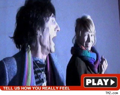 Ronnie Wood: Click to watch
