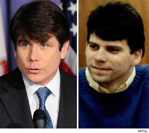 rod blagojevich hair. Blagojevich and Menendez