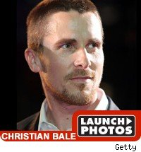 Christian Bale: Launch Photos