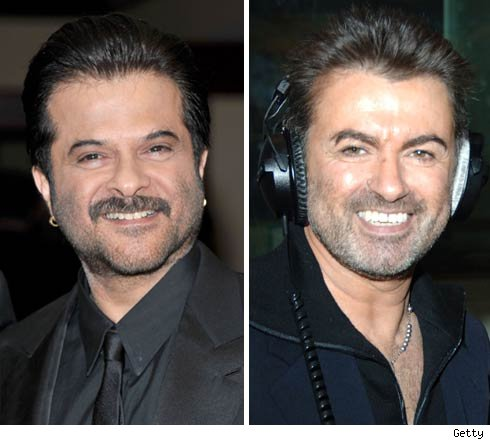 Anil Kapoor and George Michael