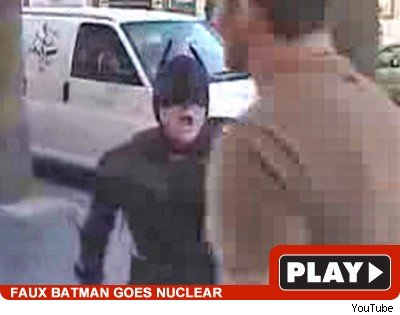 Faux Batman: Click to watch