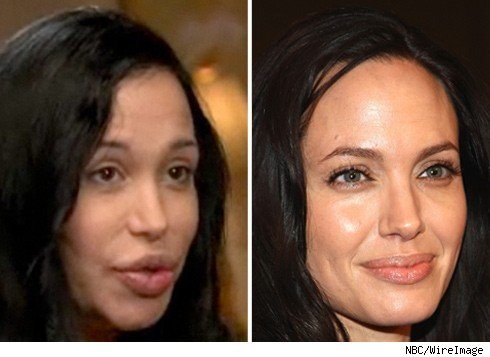 Nadya Suleman and Angelina