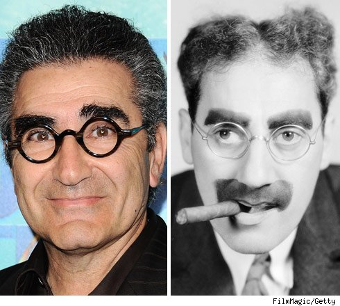Eugene Levy and Groucho Marx