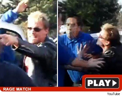 Chris Jericho fan spit detained.