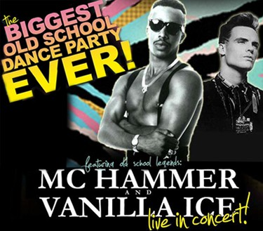 MC Hammer, Vanilla Ice