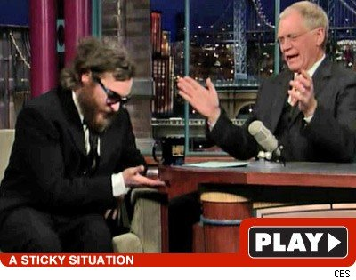 Joaquin & Letterman: Click to watch