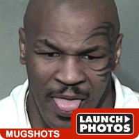 ...Mike Tyson is hauled into jail yet again.  We await his next.