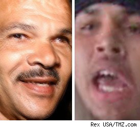 Rihanna's Dad, Chris Brown