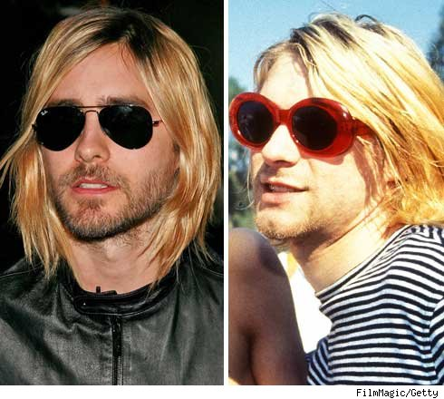 Jared Leto and Kurt Cobain