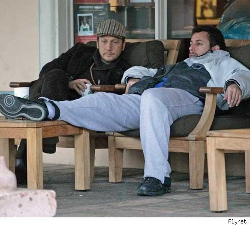 Rob Schneider, Adam Sandler