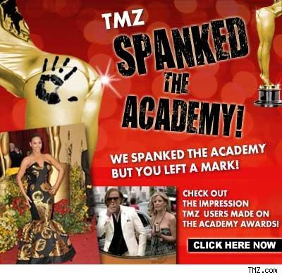 TMZ: Spanked