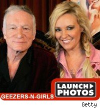 geezer girls: launch photos