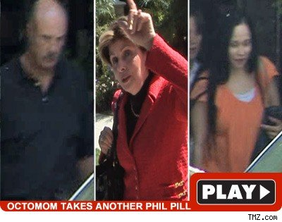 Dr. Phil, Gloria & OctoMom: Click to watch