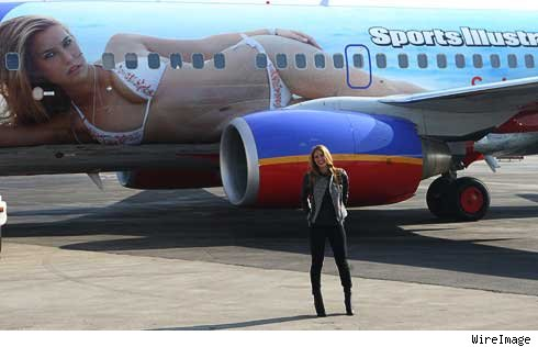 sports illustrated plane