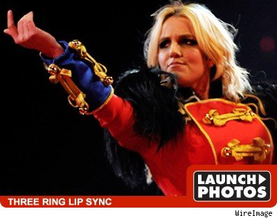 britney's lip sync: launch photos