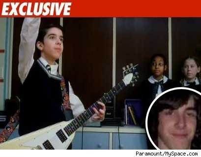 school of rock kid: exclusive